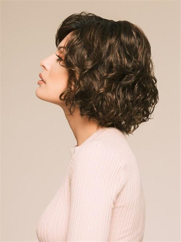 Straight Synthetic Lace Front Wig Mono Crown For Women