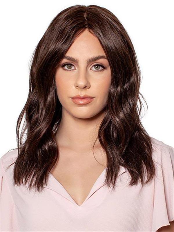 Natural Human Hair Top Piece Half All Hairpieces