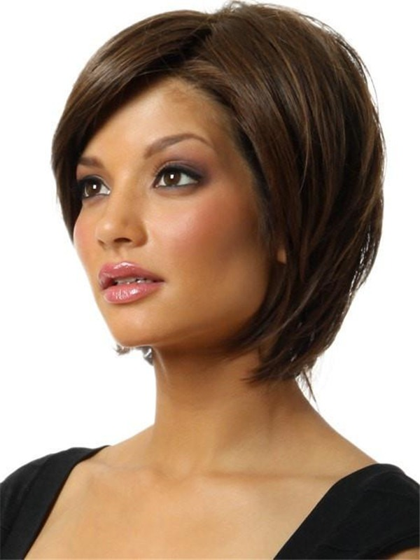 Short Opening Act Synthetic Lace Front Wig For Women