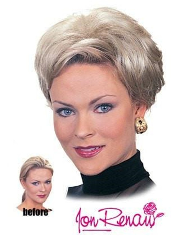 Playmate Straight Synthetic Hair Topper Half