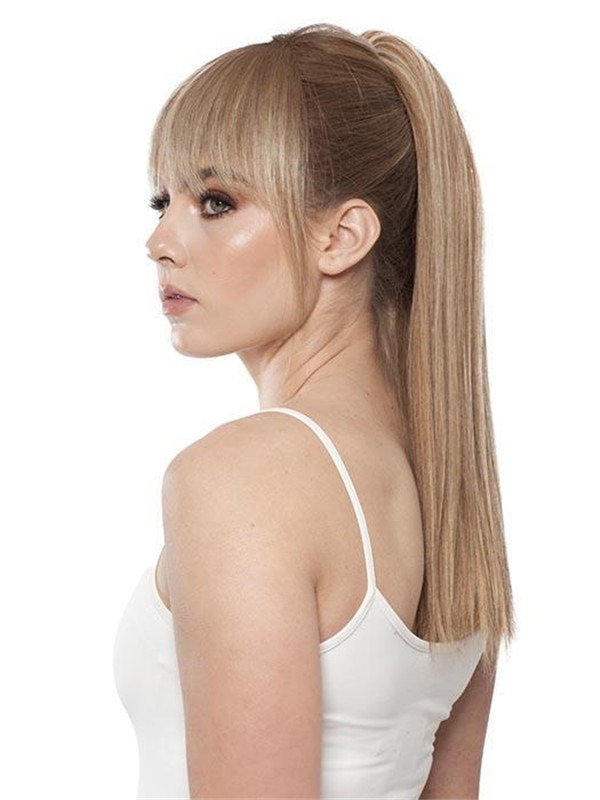 Pony Swing Human Hair Ponytail All Hairpieces