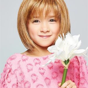 Short Straight Pretty Synthetic HF Wig Kid