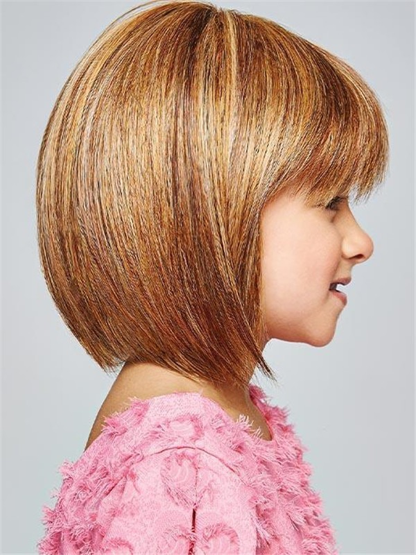 Short Straight Pretty Synthetic HF Wig Kid