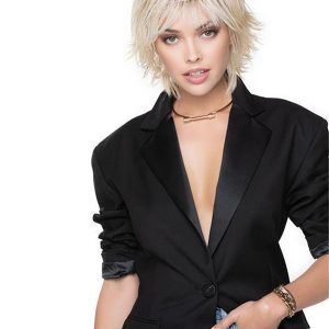 Short Cut Shag Hf Synthetic Wig Basic Cap For Women