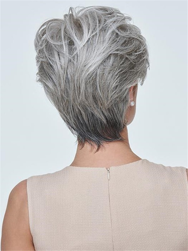 Short Synthetic Lace Front Wig Hand-tied For Women