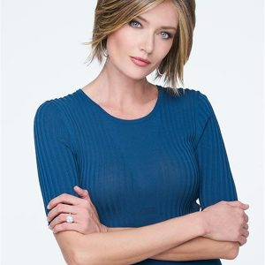 Synthetic Lace Front Wig Mono Top For Women