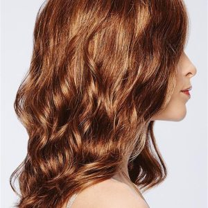 Long Curly Synthetic Lace Front Wig Mono Part