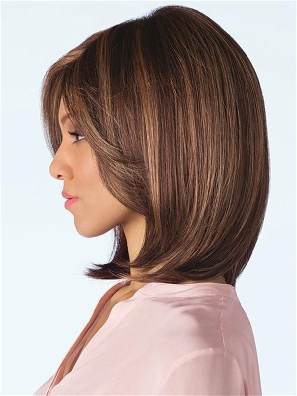Short Rooted Sky Pm Synthetic Wig Rooted For Women