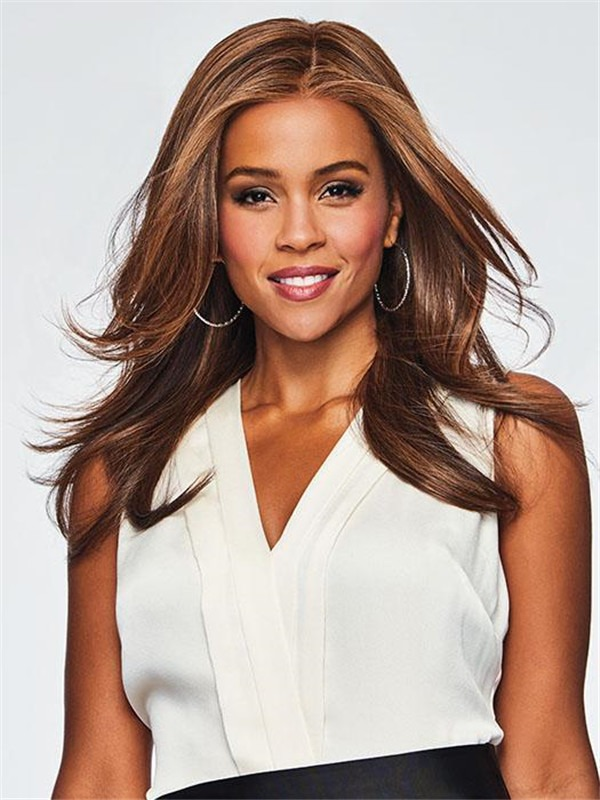 Long Scene Synthetic Lace Front Wig Wavy For Women