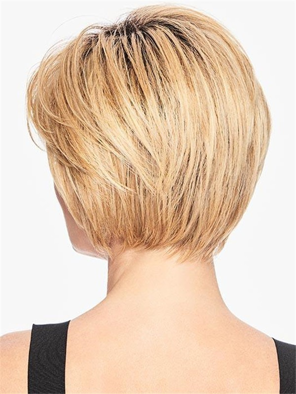 Straight Hf Synthetic Wig Basic Cap For Women