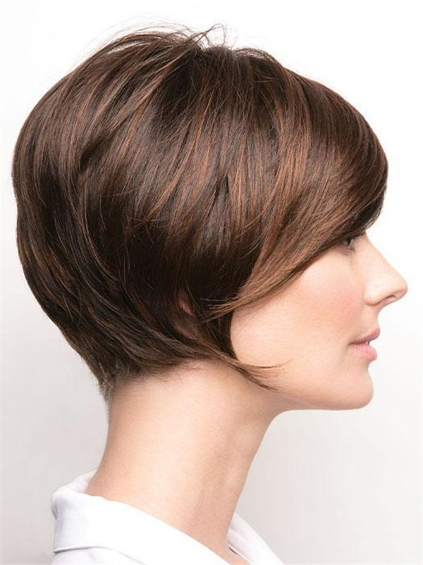 Rooted New Arrivals Synthetic Lace Front Wig For Women