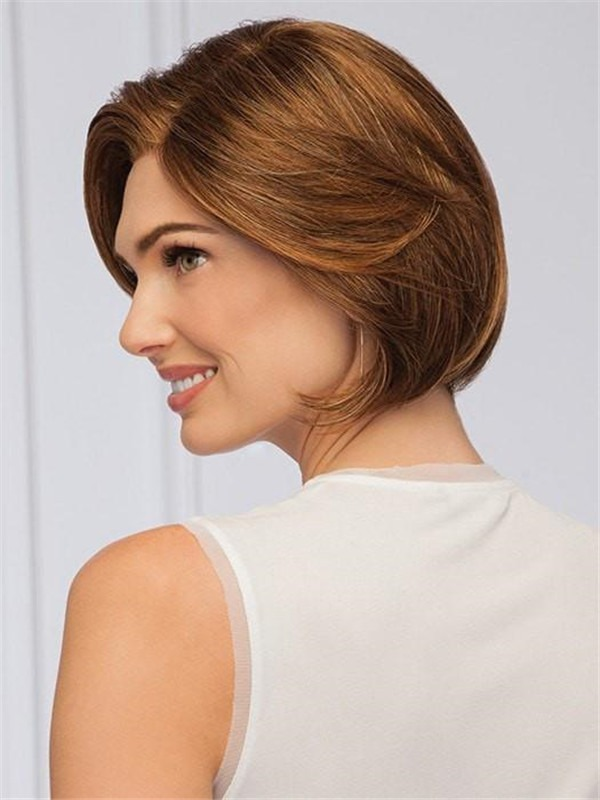 Straight Synthetic Lace Front Wig Mono Part For Women