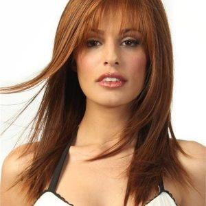 Long Hf Synthetic Lace Front Wig Mono Top For Women