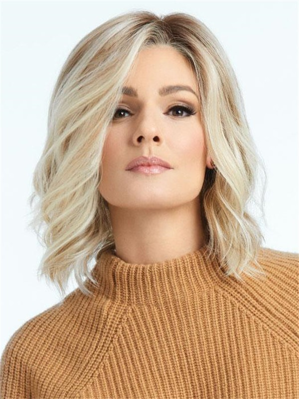 Short Curly Hf Synthetic Lace Front Wig For Women