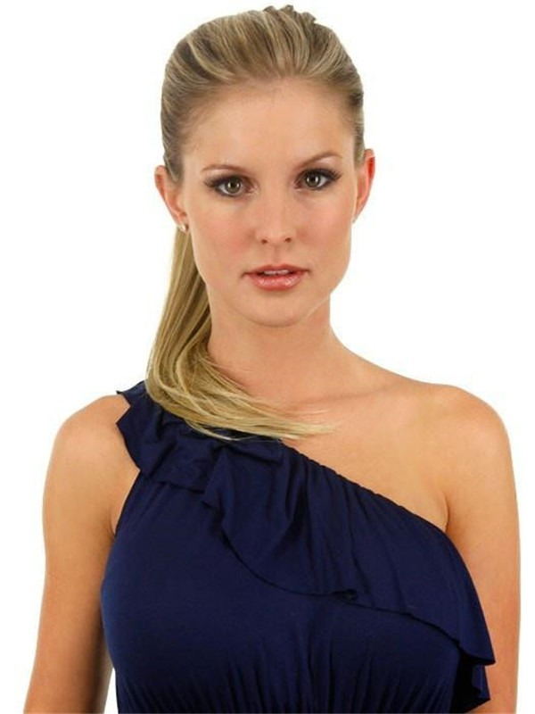 """18"""" Simply Straight Pony Synthetic Ponytail Wraps"""