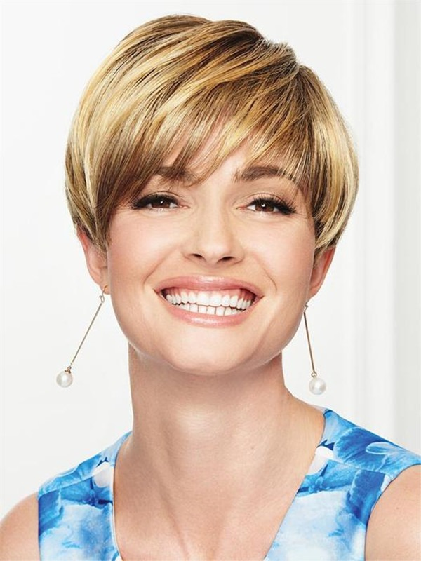 Short So Stylish Synthetic Wig Rooted For Women