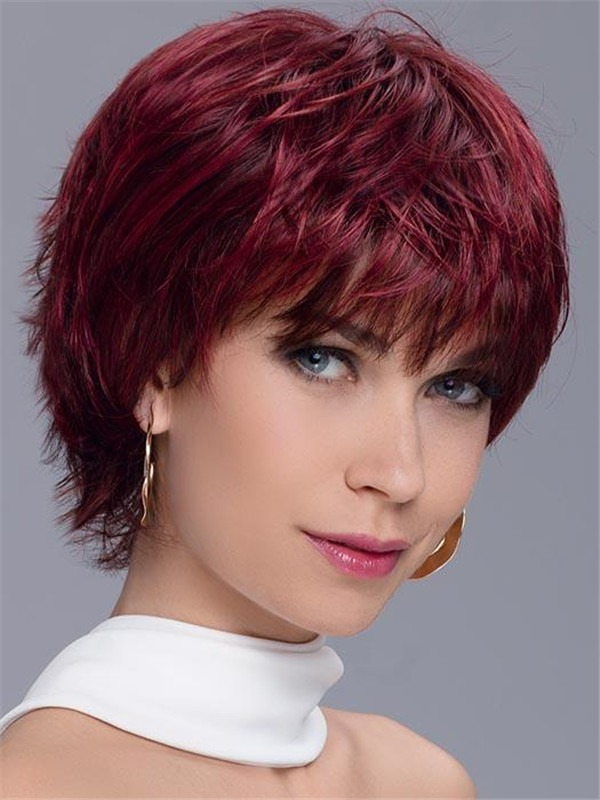 Short Straight Spark Synthetic Wig For Women