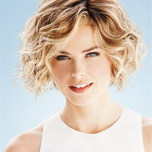 Short Pixie Synthetic Lace Front Wig Hand-tied Top