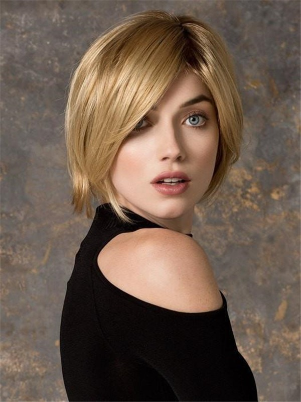 Short Talia Mono Synthetic Lace Front Wig Rooted For Women