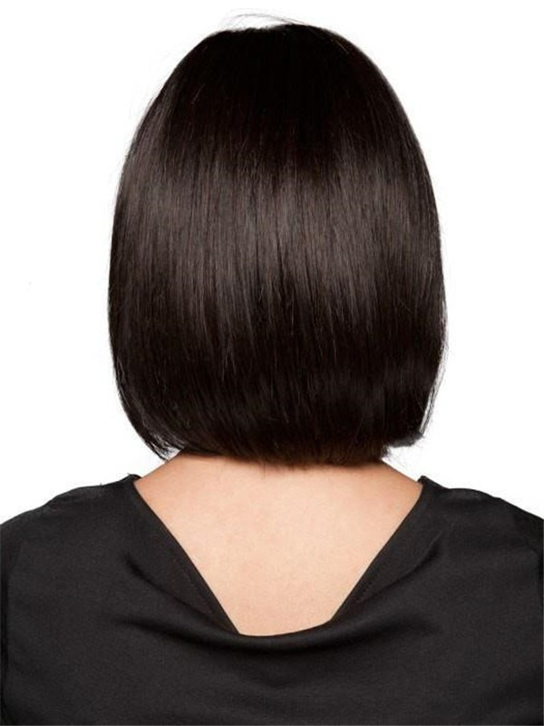 Mid-length Synthetic Lace Front Wig Hand-tied For Women