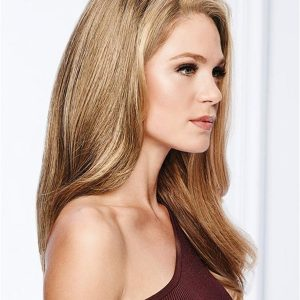 Synthetic Hair Topper Top Piece Basic Half