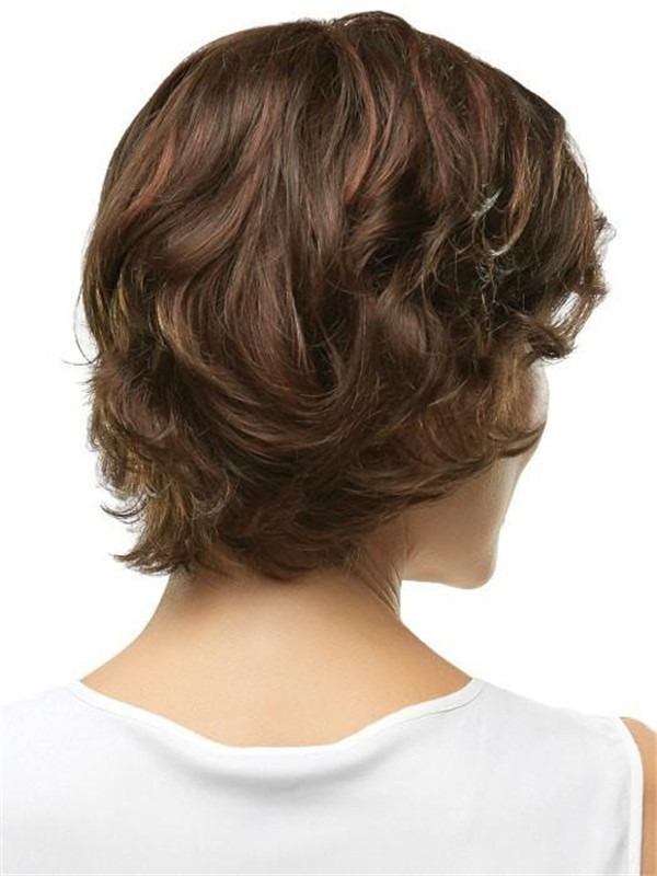 Half Synthetic Hair Topper Full Mono