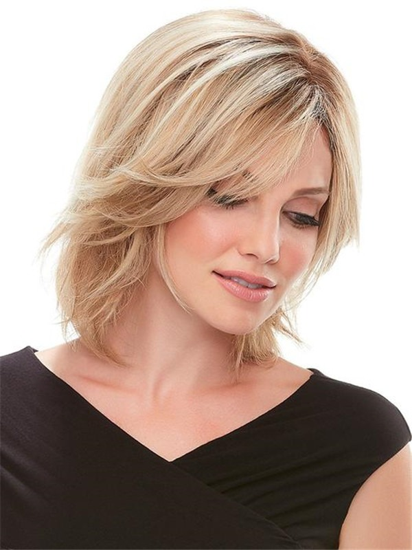 Top Exclusive Human Hair Topper Half Rooted