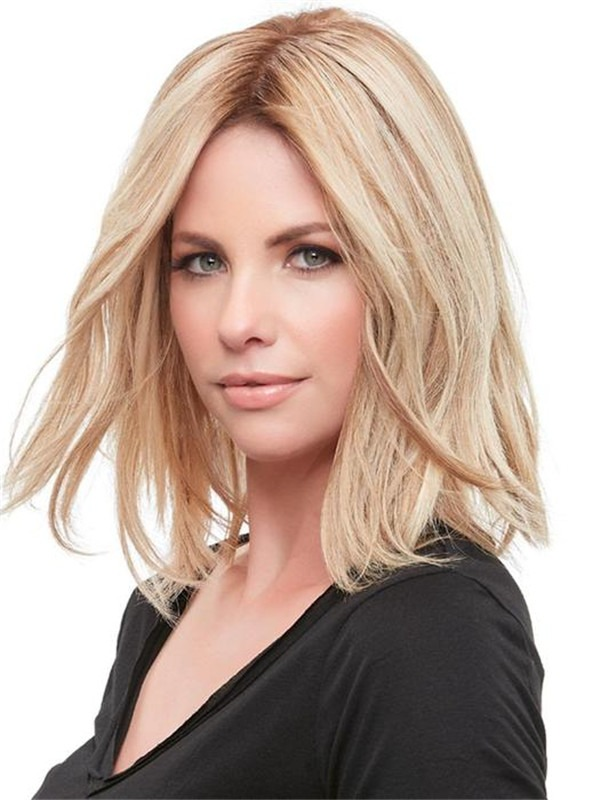 Top Form French Remy Human Hair Topper Half
