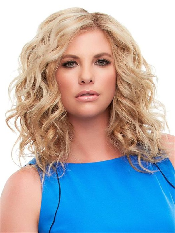 Exclusive Human Hair Topper Rooted Half