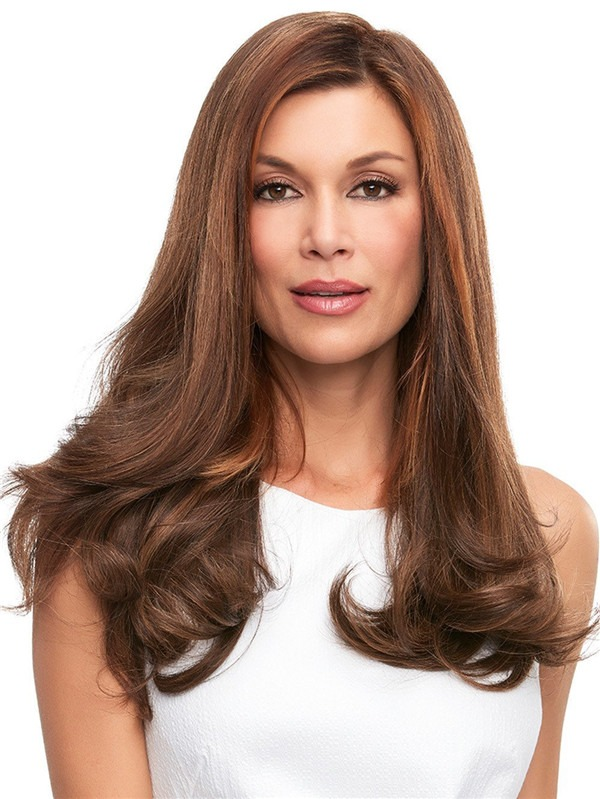 Top Full Human Hair Topper All Hairpieces