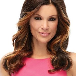 Top Level Synthetic Lace Front Hair Topper Half