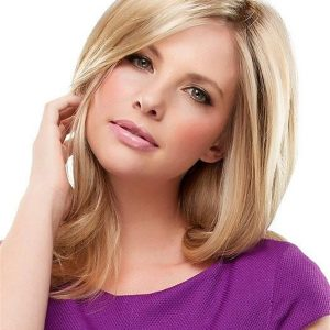 Top Notch Synthetic Hair Topper Half Falls