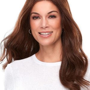 Top Lace Front Remy Human Hair Topper Half Falls