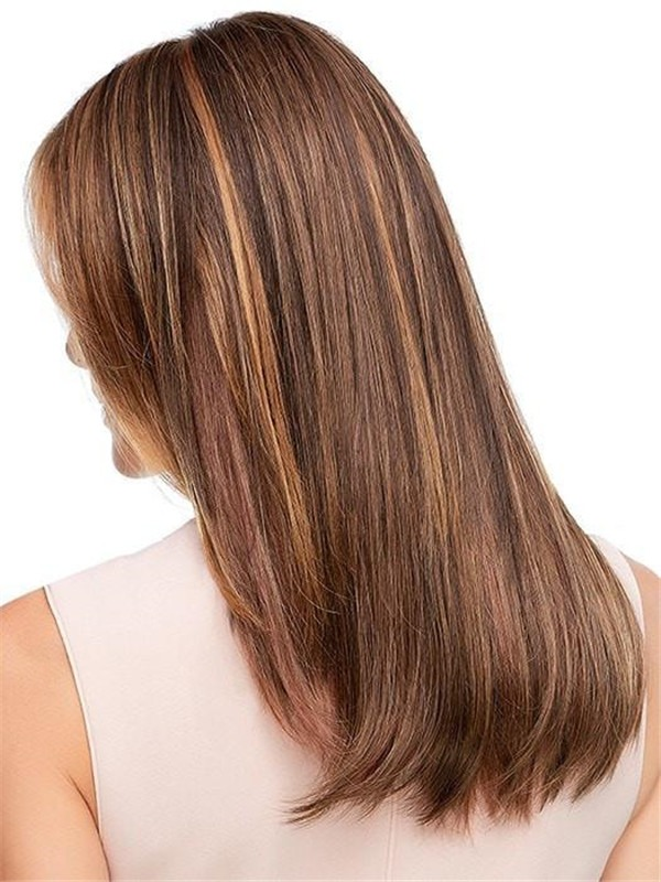 """Top Style 18"""" Synthetic Hair Topper Half Falls"""