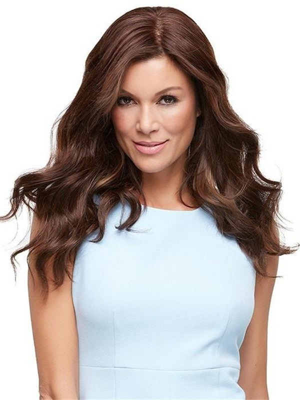 """Top Style HH 18""""Human Hair Topper Half"""
