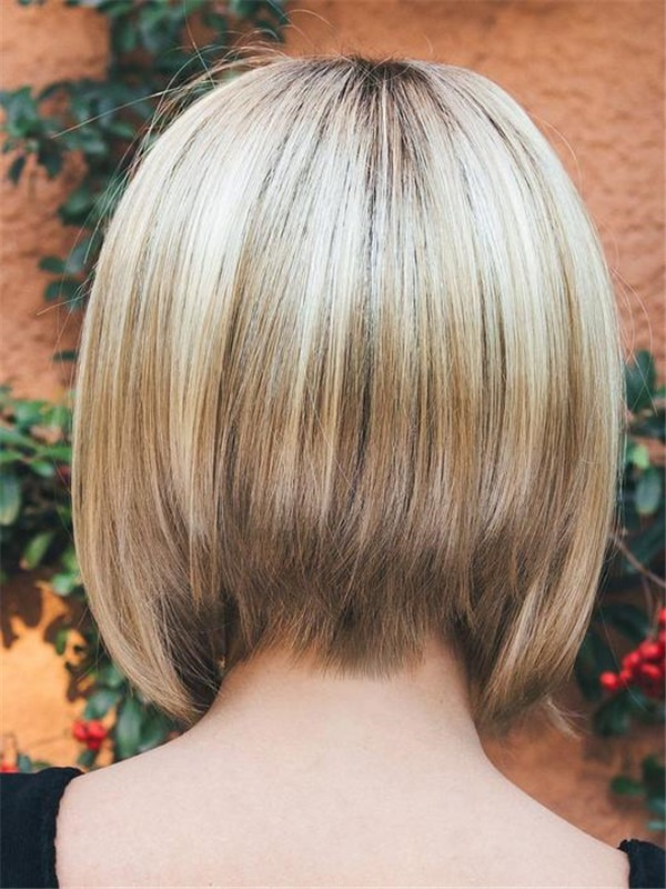 Short Synthetic Wig Basic Cap For Women