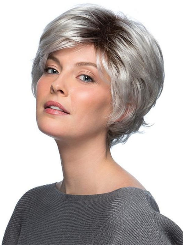 Short True Synthetic Wig Basic Cap New Arrivals For Women