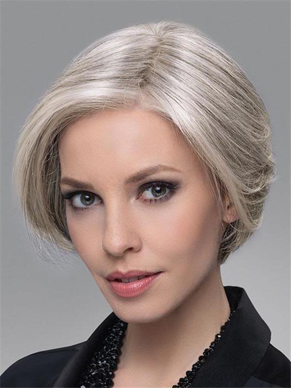 Human Hair Synthetic Blend Half Falls
