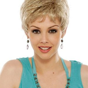 Brunette Rooted Synthetic Wig Basic Cap