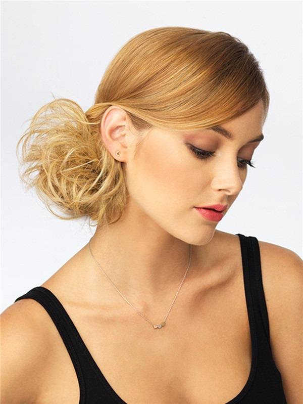 Wavy Wrap Synthetic Hair Bun All Hairpieces
