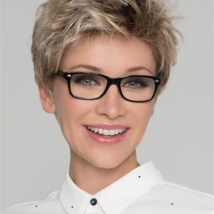Short Alba Comfort Synthetic Lace Front Wig For Women