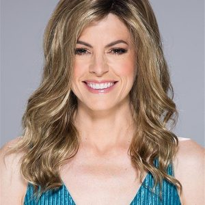 Curly Alden Synthetic Lace Front Wig Rooted For Women