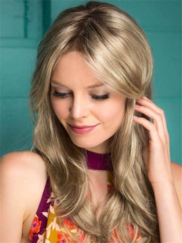 Long Alessandra Synthetic Lace Front Wig For Women