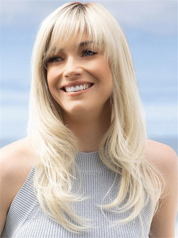 Long Straight Angela Synthetic Wig For Women