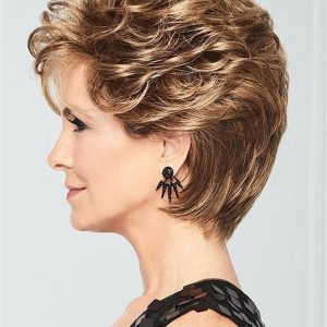 Short Curly Dream Do Synthetic Lace Front Wig For Women