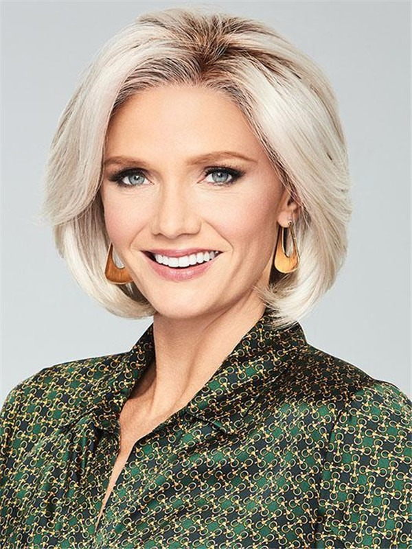 Short Epic Synthetic Lace Front Wig Rooted For Women