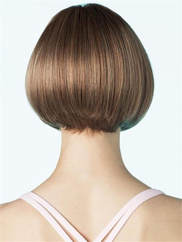 Short Rooted Erin Synthetic Wig Mono Top For Women