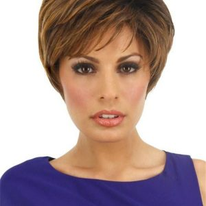 Straight Rooted Synthetic Lace Front Wig Mono Top