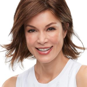 Short Mid-length Felicity Synthetic Lace Front Wig For Women
