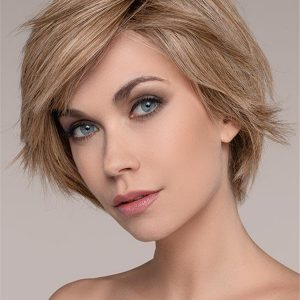 Short Straight Human Hair Lace Front Wig For Women